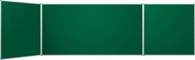 8.. Classic dupla oldalszárnyas kerámia - zománc acél tábla 100x100+200x100+100x100 cm