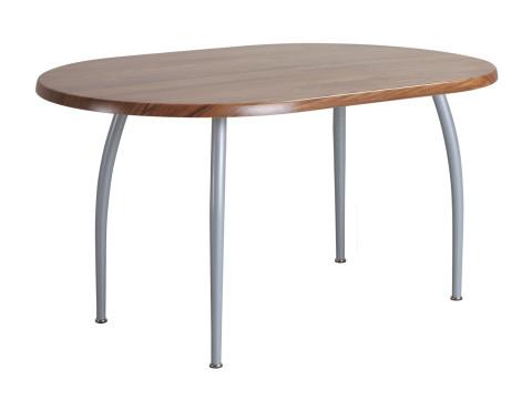 A 202 asztal 120x80 cm ovál