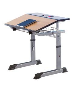 Aluflex egyszemélyes állítható tanulóasztal