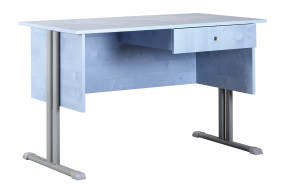 Atlasz egyfiókos tanári asztal