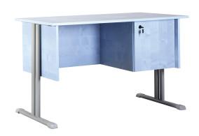 Atlasz tanári asztal fiókos szekrénnyel