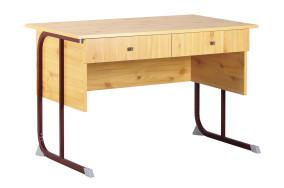 Derby kétfiókos tanári asztal