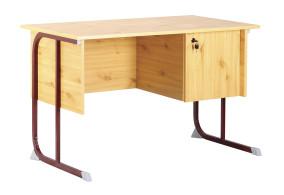Derby tanári asztal fiókos szekrénnyel