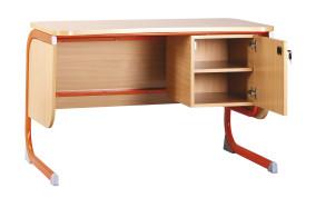 Geo tanári asztal fiókos szekrénnyel