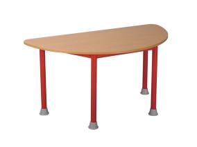 Mese félkör asztal