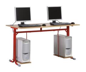 Nóra_12 kétszemélyes számítógépasztal