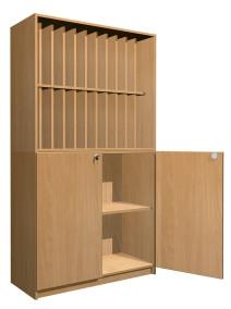 Naplótartó szekrény