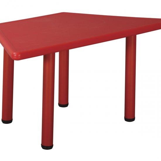Műanyag óvodai asztal