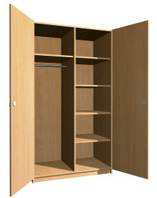 SZ-017 Kollégiumi szekrény
