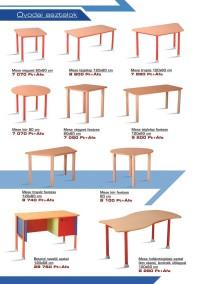 Óvodai asztalok