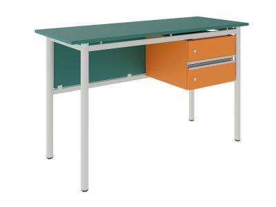 FLEX 2 FIÓKOS tanári asztal