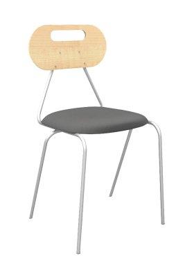 KALEIDO tanári szék kárpitos bükk ovális