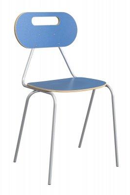 KALEIDO tanulói szék ovál dekorit