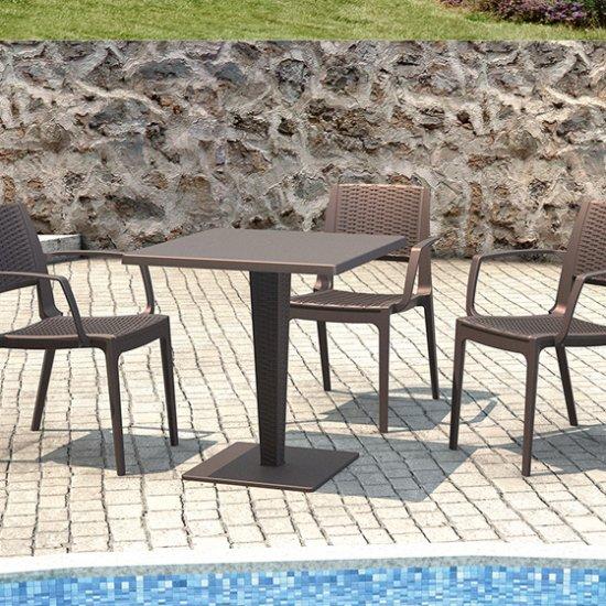 Polyrattan székek
