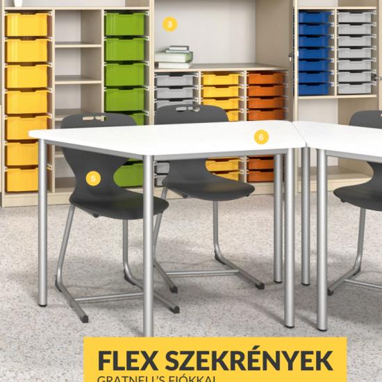 Flex szekrények Gratnell's fiókokkal