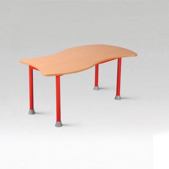Fémvázas óvodai asztalok