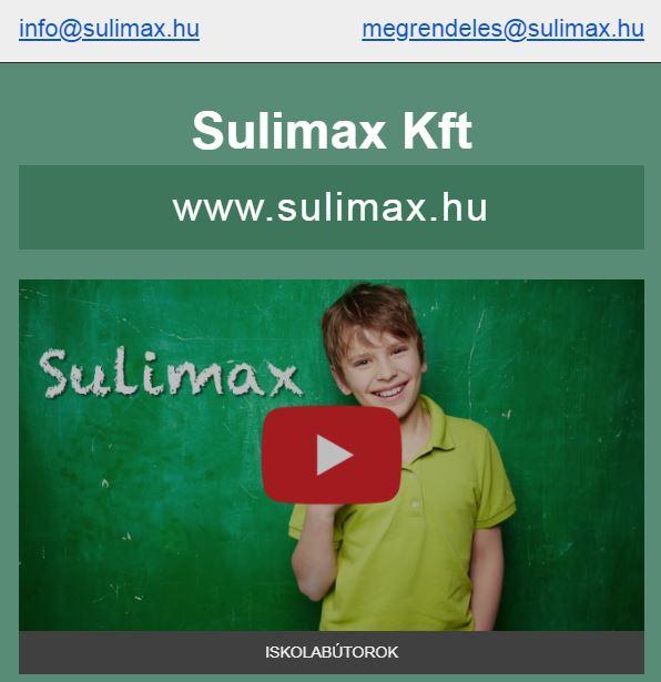 Sulimax Kft Júliusi Iskolabútor Akció