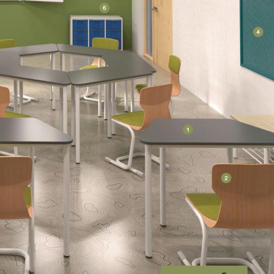 Trapéz asztalok