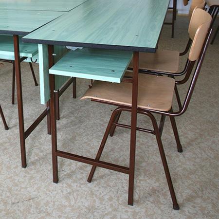 Klasszikus tantermi bútorcsalád