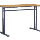 Alfa kétszemélyes tanulóasztal