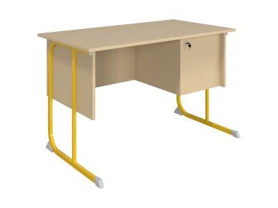 Derby szekrényes tanári asztal