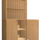Naplótartó szekrény 22 fakkos
