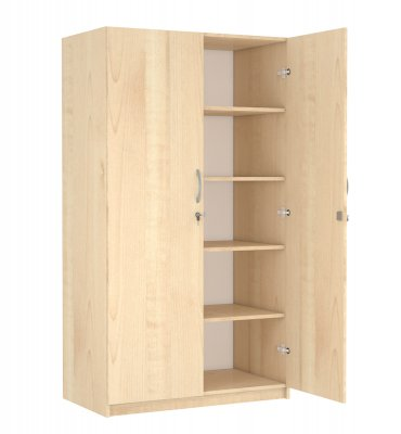 SZ-001 Kétajtós polcos szekrény