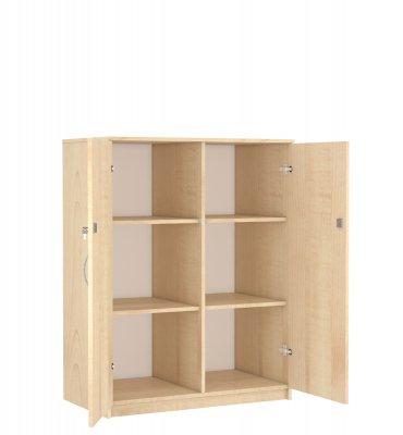 Sz-013 Kétajtós polcos szekrény