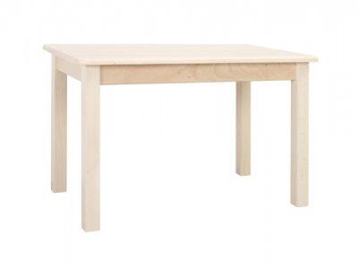 négyzetes fa óvodai asztal