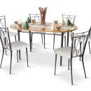 RUSTICO szék A-212 asztal