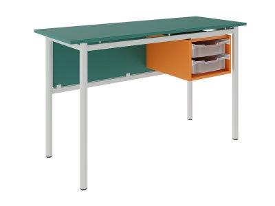 FLEX 2 GRATNELL'S kétfiókos tanári asztal
