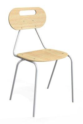 KALEIDO tanulói szék ovál bükk