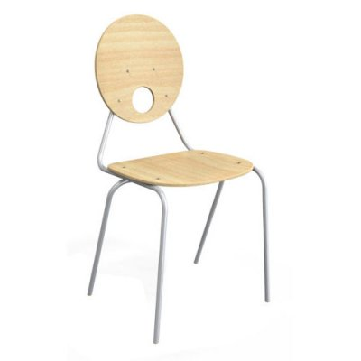 KALEIDO szék kerek támlás
