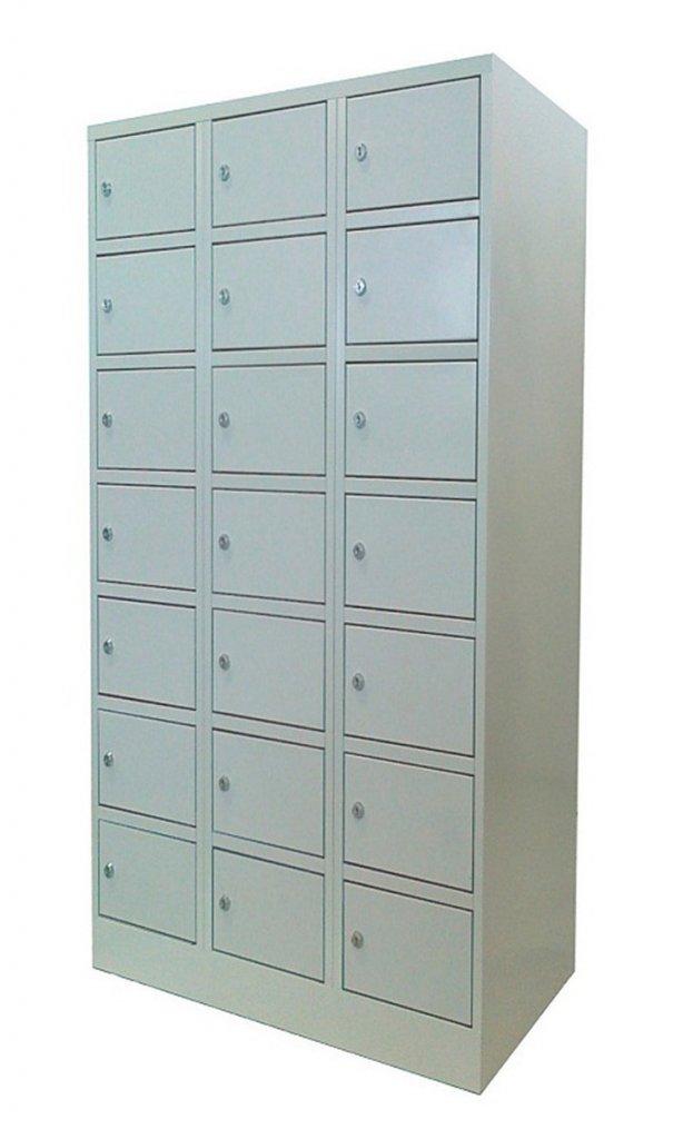 Sulimax FIttMet értékmegőrző szekrény 21 rekeszes