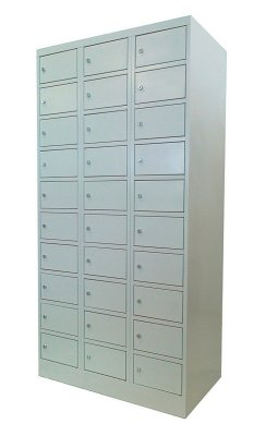 Sulimax FIttMet értékmegőrző szekrény 30 rekeszes